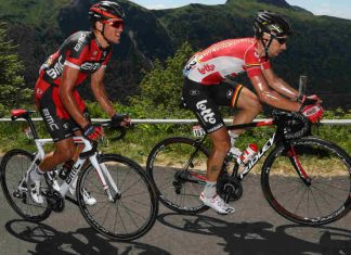 Parcours etappe 6 Tour de France 2016: gele trui Greg Van Avermaet Getty