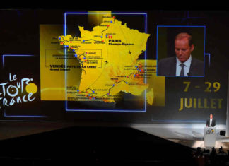 Parcours en etappes Tour de France 2018 wielrennen Getty